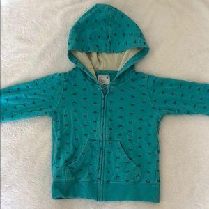 Uniqlo infant hooded sweatshirt